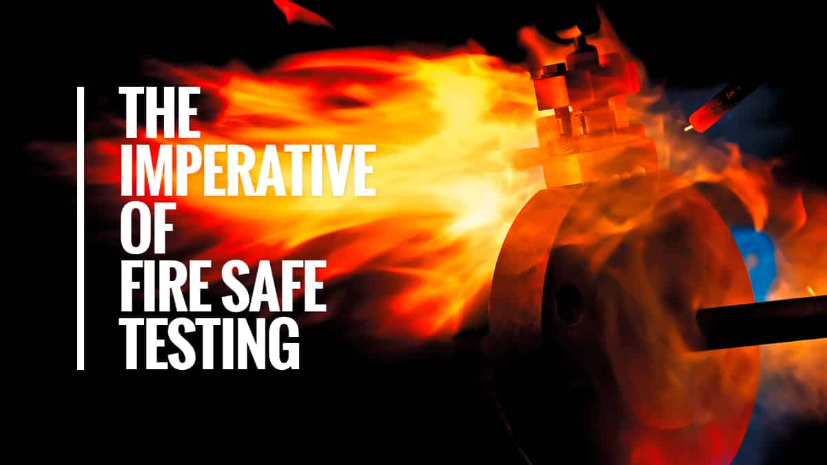 DBB - Fire safety solutions according to ISO and API standards