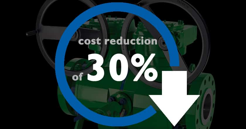 DBB - Endusers have cost reduction of 30 percent.