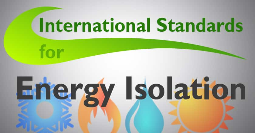 DBB – Norsok and OSHA are international standards for energy isolation.
